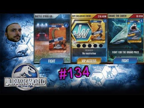 VIP Su Altı , 64.Bölüm ve Megalodon Maçları - Jurassic World # 134