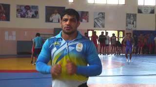 Wrestler Shri Sushil Kumar on #YogaDay
