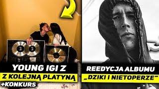 YOUNG IGI z PLATYNĄ, REEDYCJA ALBUMU LEHA, ŻABSON O HEJCIE!