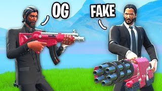 I used *OG* JOHN WICK and hunted the FAKE John Wick... (HOW is this possible)