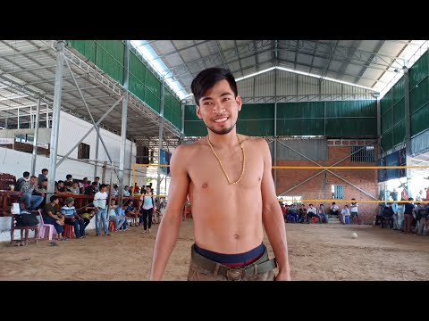 Live || ជក់ចិត្តណាស់ The Best Cambodia Volleyball || Sovanneth  Vs Ra || 21 Dec 2018