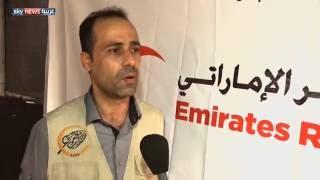 مشروعات عدة للهلال الأحمر الإماراتي بغزة