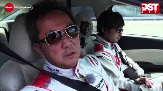 マツダ・アテンザXD vs BMW 320d ブルーパフォーマンススポーツ(加速・減速編)【DST#054-01&02】