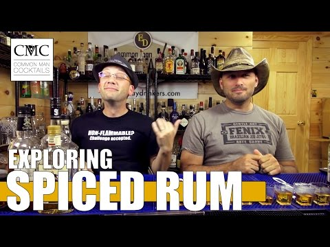 Exploration Series: Spiced Rum, Blind Tasting
