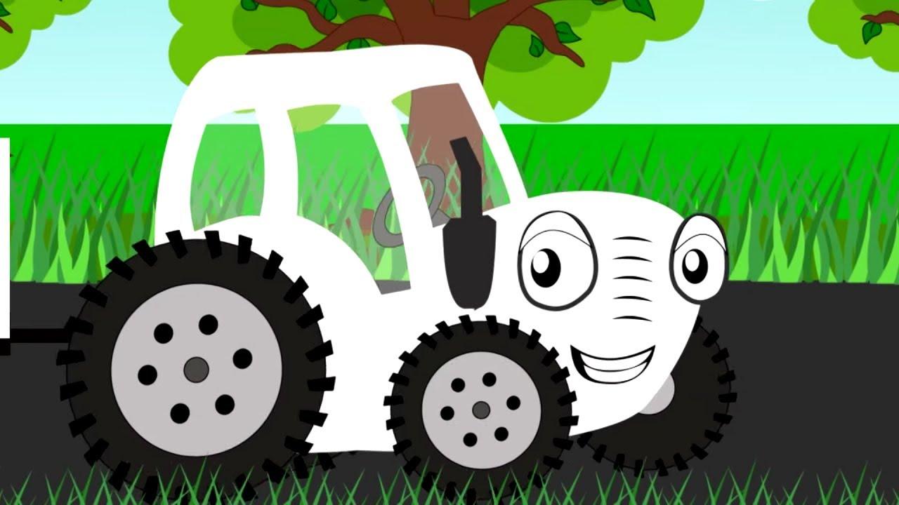 🚜 Тыр Тыр Трактор - ПРО ЕДУ - Все песенки про вкусняшки | Весёлые песни для детей