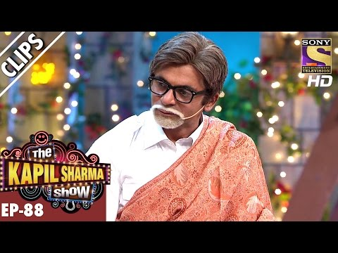 Sunil Grover As Amitabh Bachchan - The Kapil Sharma Show - 11th Mar 2017