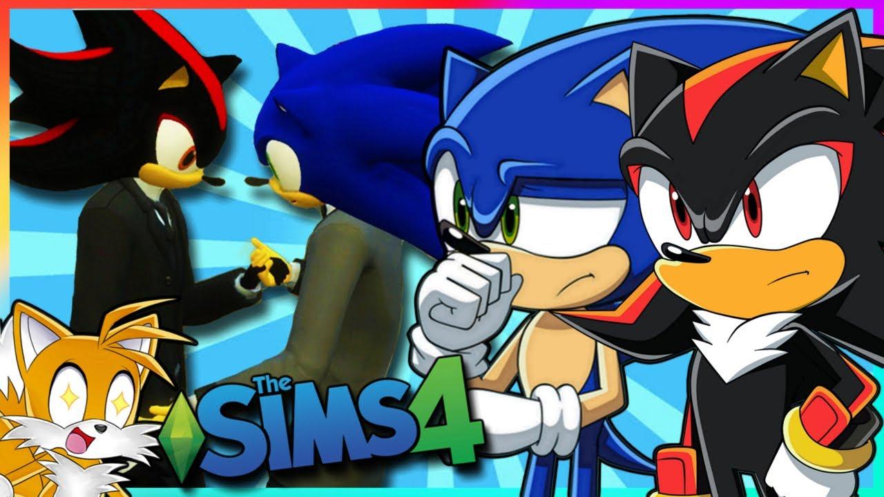 Sonadow Wedding | Sonic Shadow & Tails Play Sims 4 Mods