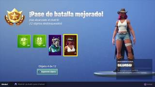 FORTNITE - Season 6 Rewards (battle pass rewards) in Spanish