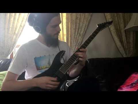 Dance Gavin Dance - Chucky vs. The Giant Tortoise (guitar cover)