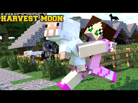 Thumbnail: Minecraft: HARVEST MOON! (TOWNSHIPS, RELATIONSHIPS, & FARMING!!) Mod Showcase