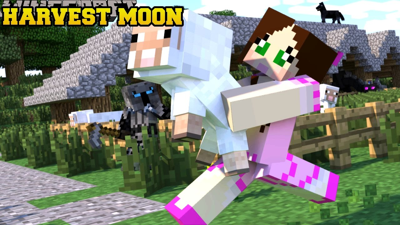 Minecraft: HARVEST MOON! (TOWNSHIPS, RELATIONSHIPS ...