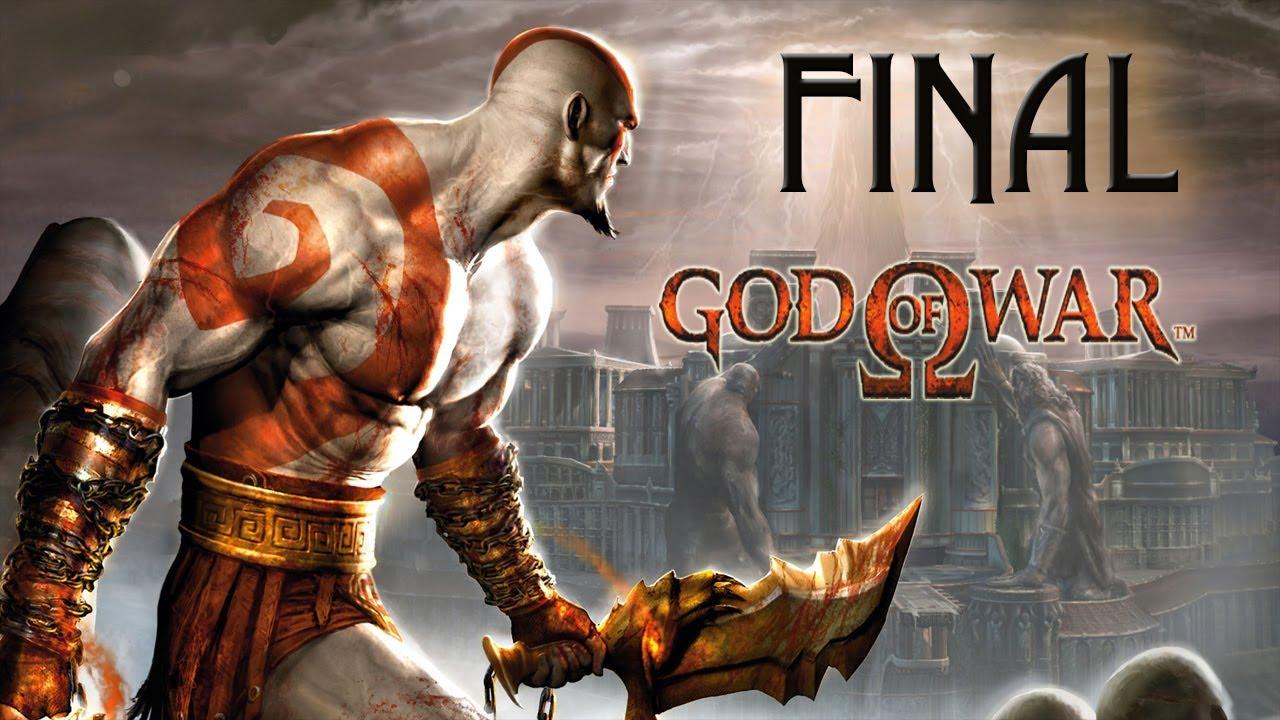 God Of War Ps2 Final El Nuevo Dios De La Guerra Youtube