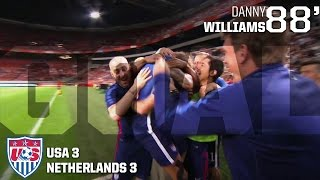 MNT vs. Netherlands: Danny Williams Goal - June 5, 2015