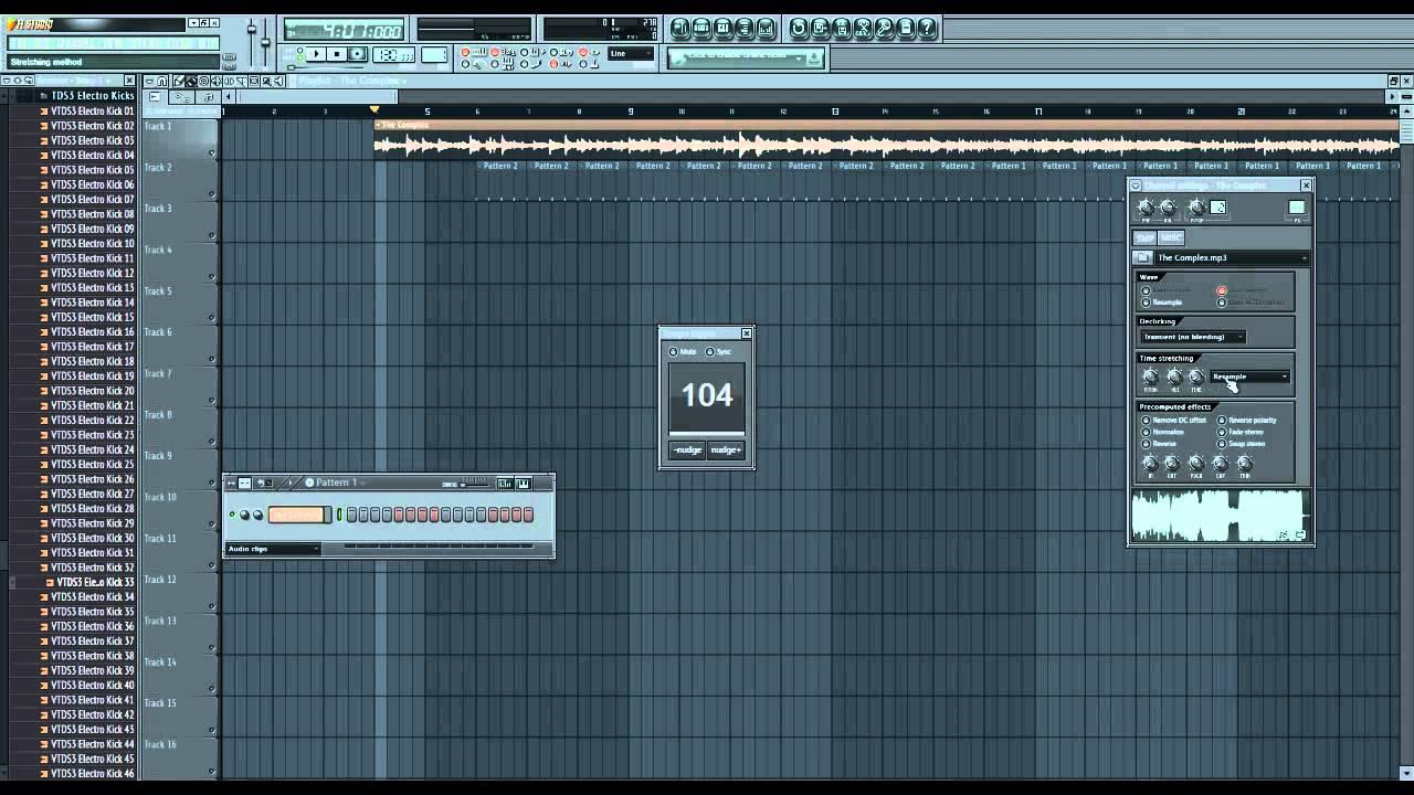 Схема песни в fl studio