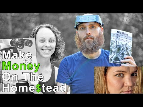 How To Make Money On A Homestead – Working From Home Without Big Business