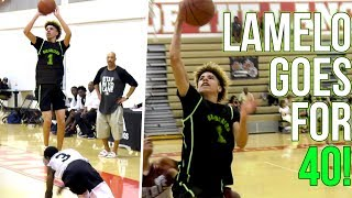 LaMelo Ball Scores 40 & Big Ballers Regain Powers After Compton Magic Blowout! Melo Learning from L!