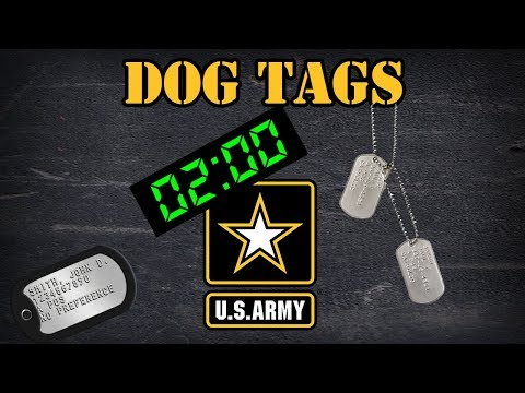 What Are Dog Tags