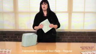 Harmonie Waterproof Bed Pads - Regular - Sct352