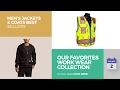 Our Favorites Work Wear Collection Men's Jackets & Coats Best Sellers