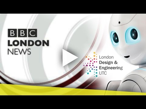 BBC London News LDE UTC Pepper Launch!