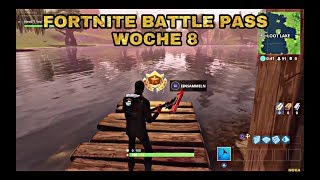 FORTNITE BATTLE PASS WEEK 8 TREASURE & TANZLOCATION