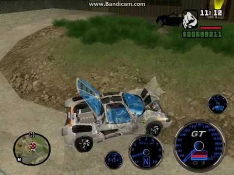 топ 6 секретных функций в Gta San Andreas super cars