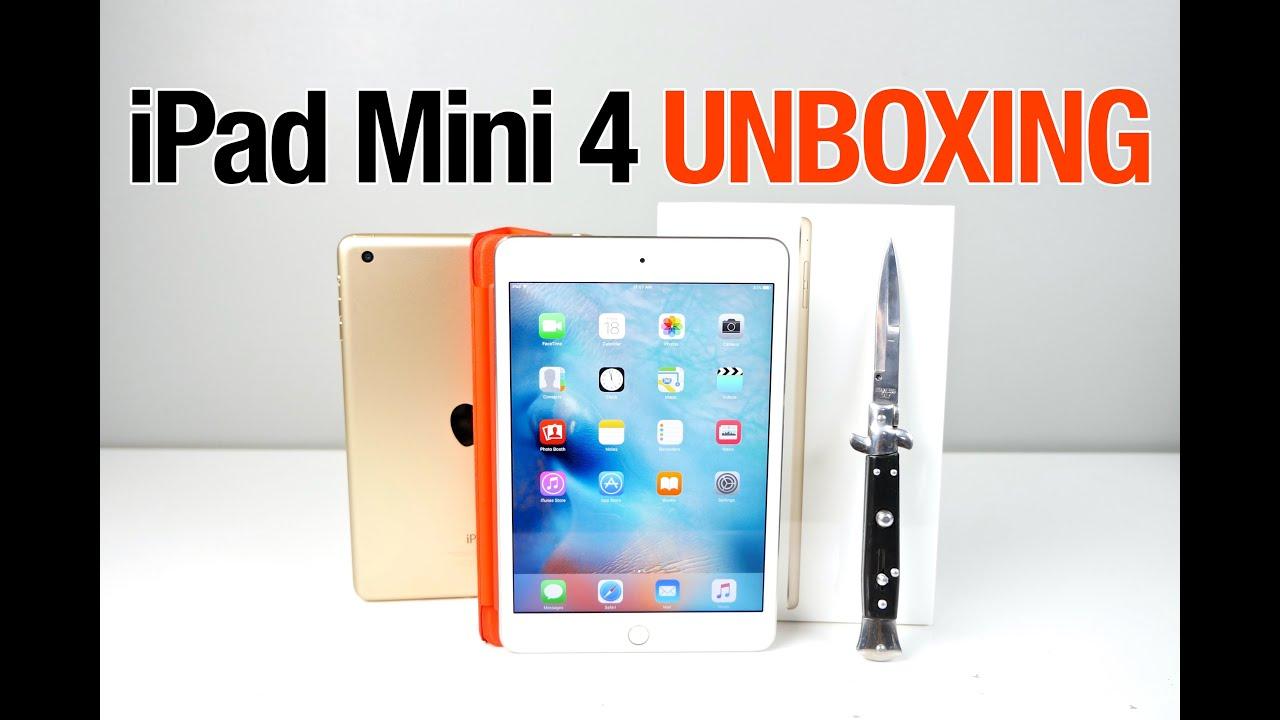 iPad Mini 4 Unboxing & First Impressions