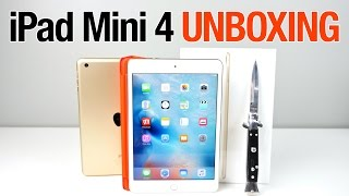 iPad Mini 4 Unboxing & First Impressions