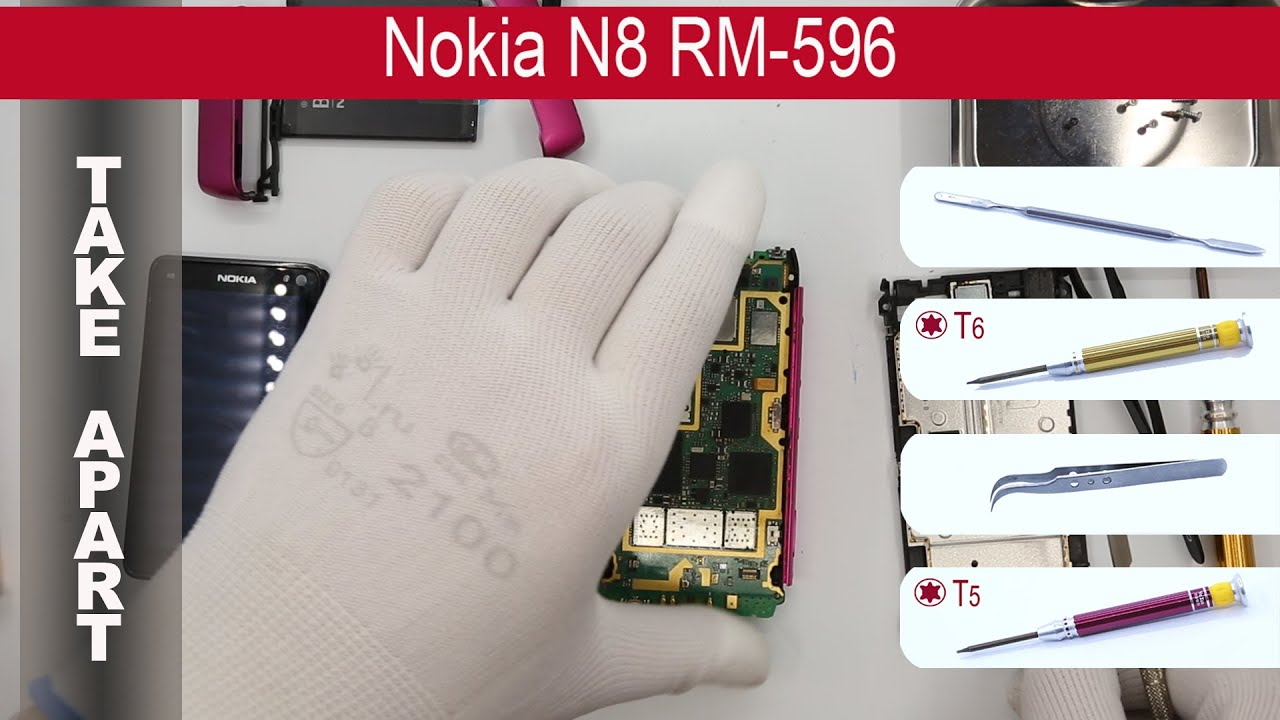 Download Nokia N8-00 RM-596 📱 Teardown Take Apart Tutorial
