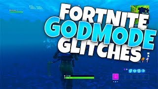 Fortnite Glitches in SEASON 6: GODMODE Glitches Fortnite! All Godmode, Under Map, & XP Glitches