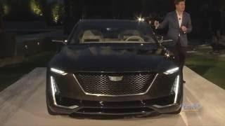 Cadillac Escala Unveiling at 2016 Pebble Beach