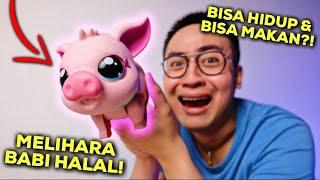 JADI INI RASANYA PELIHARA BABI HALAL.. | LITTLE LIVE PETS MY PET PIGGLY PIG UNBOXING & REVIEW