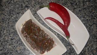 هريسة / شرمولة حارة و محمضة لتحضير عدة اطباق و طريقة الاحتفاض بها في المجمد