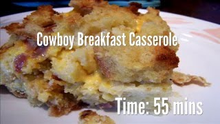 Cowboy Breakfast Casserole Recipe