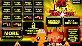 Обезьянка и Сокровище прохождение Monkey GO Happy Treasure walkthrough