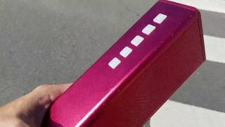 using a Bluetooth Speaker in SD Card MP3 player playing mode
