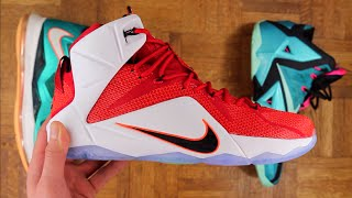 Nike Lebron 12 Performance Overview - HRT of a Lion