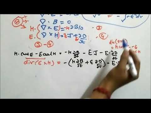 Unit 1 Maxwell Equation , Poynting Theorem