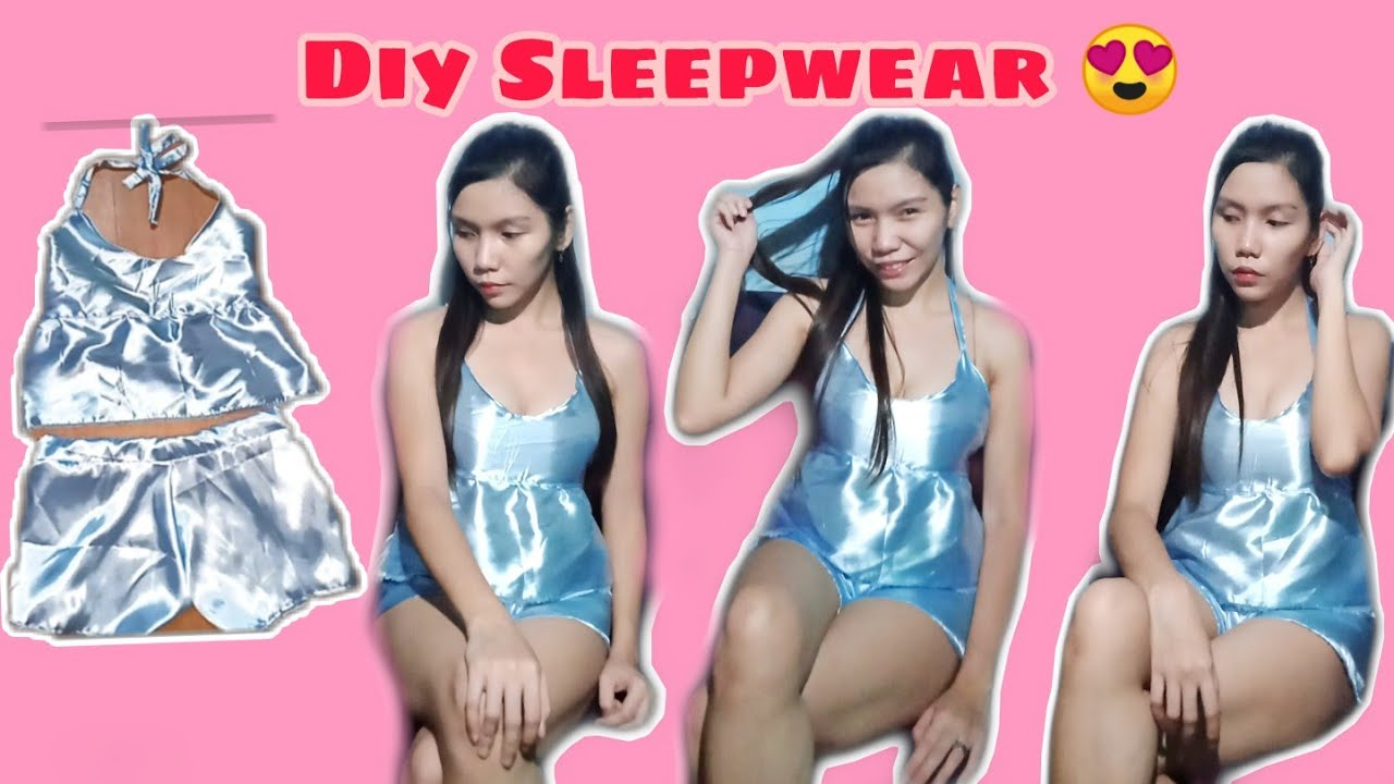 #diy #sleepwear  Diy Sleepwear / lingerie / silk fabric