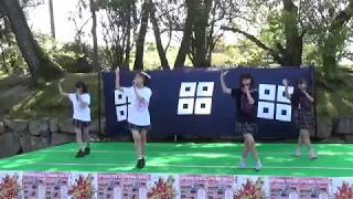 きみともキャンディ 2018.4.8 ライブ2部 丸亀城スプリングフェスタにて.