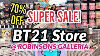 Super Sale! Bt21 Pop-up Store + Price Range 2020 | Bt21 Robinsons Galleria | Giveaway Alert ✨