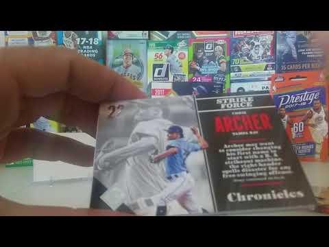 Great box...2017 Panini Chronicles baseball blaster box opening