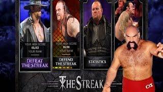 WWE 2K14 Defeat The Streak Part 2 Ox Baker and Slobberknocker