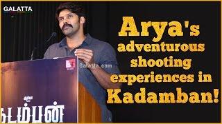 #Arya's Adventurous Shooting Experiences In #Kadamban!