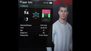 PES 2018 OFFICIAL REAL MADRID PLAYER RATINGS