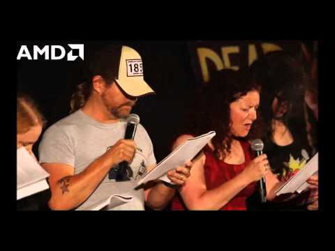 Telltale Games The Walking Dead Live Performance at San Diego Comic Con