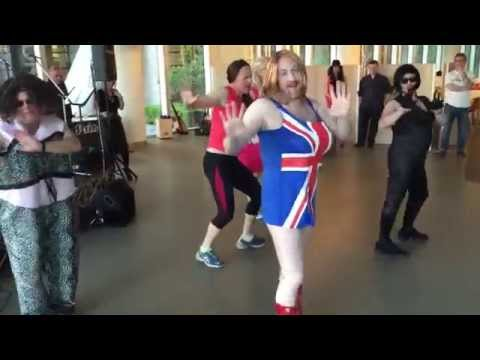Spice Girls Dance Wannabe for G.O.S.H Charity event!