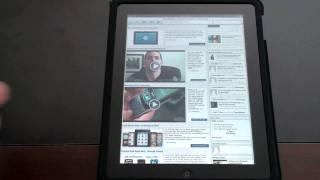Apple iPad: Web Browsing Overview