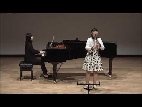 강미루_Clarinet_2014 JoongAng Music Concours
