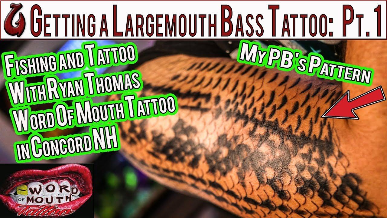 Maori Largemouth Bass Tattoo: Largemouth Bass Tattoo And Fishing With Ryan Thomas From